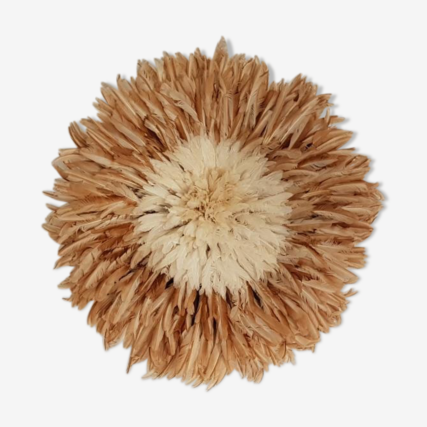 Juju hat naturel et blanc 80cm