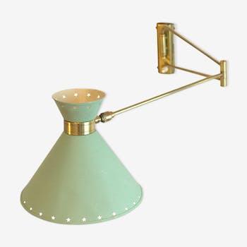 Articulated jib René Mathieu lamp