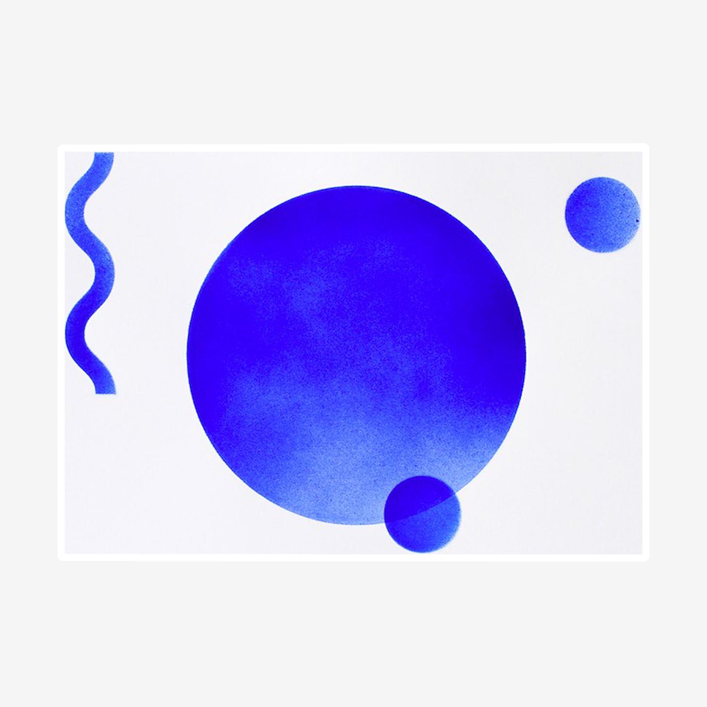 Lunes Bleues - Format A3
