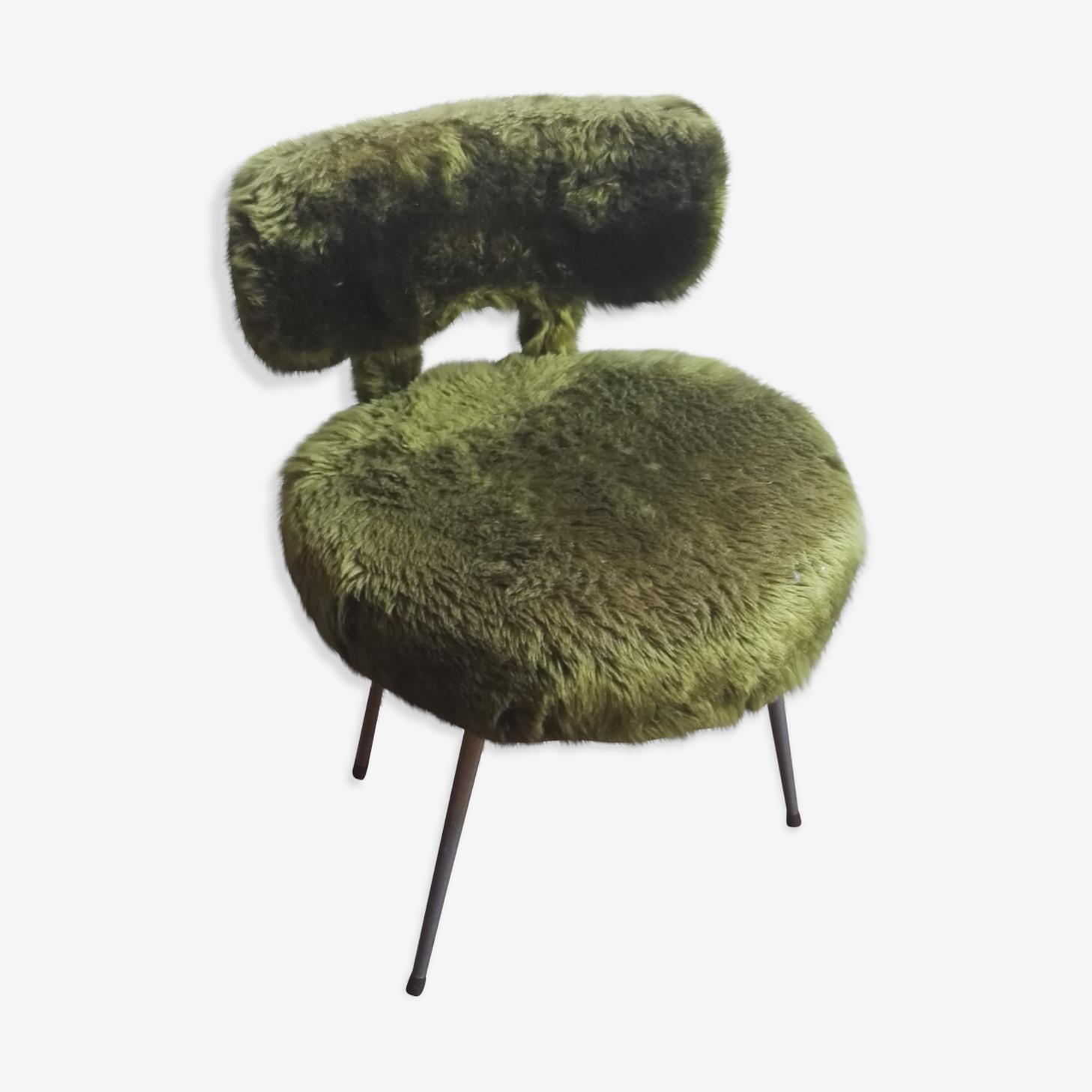 Vintage fur Chair