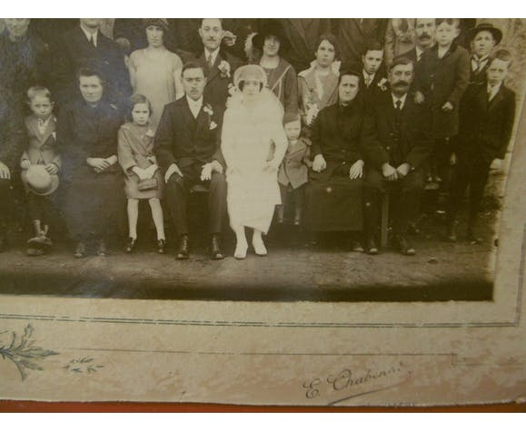 wedding photo in Berry in 1920