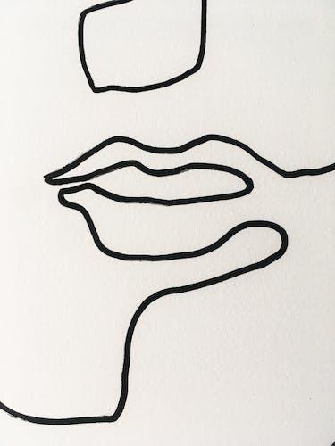 Face #1 _ 77x55cm