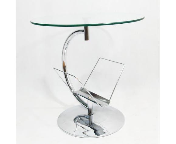 Coffee Table With Glass Top Kokoon Design Germany 80s Selency