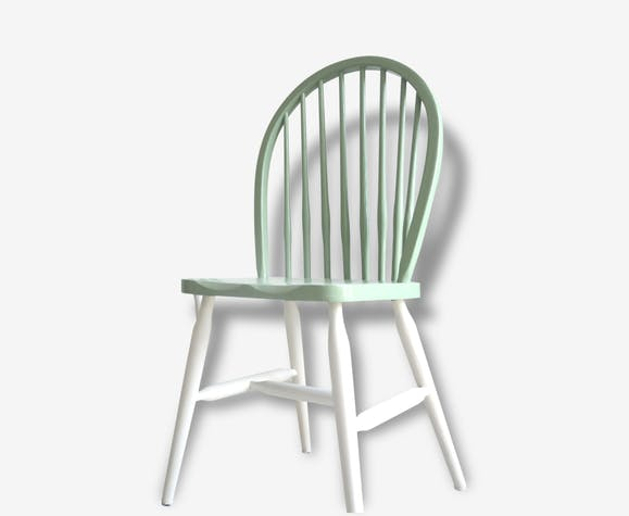 Chaises Windsor Bois Matériau Vert Scandinave 29252