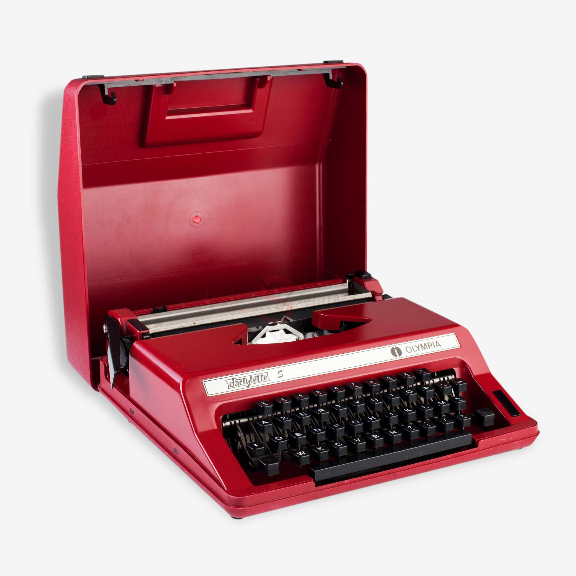 Machine à écrire, Typewriter, Dactylette Olympia