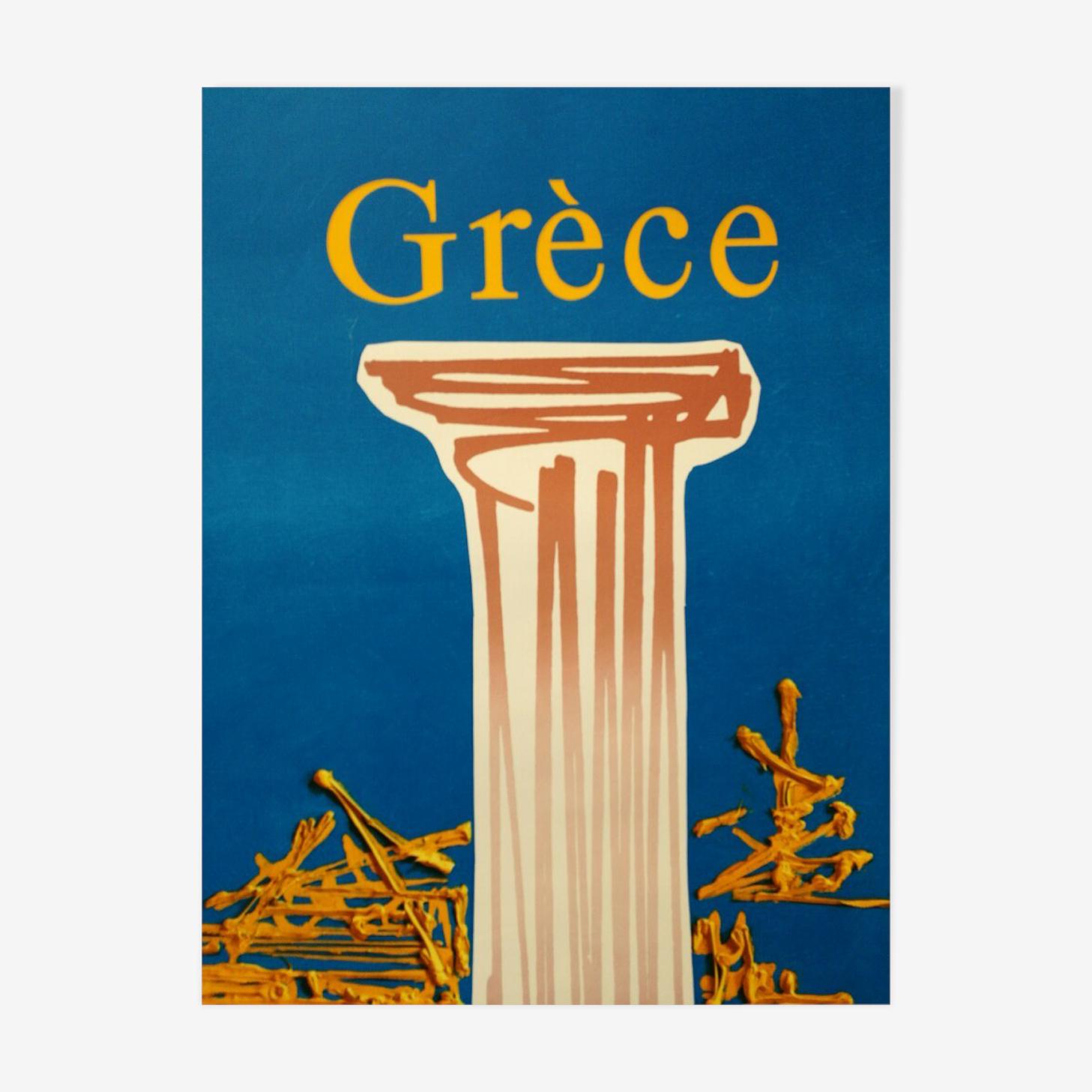 Original poster Air France Circa 1970