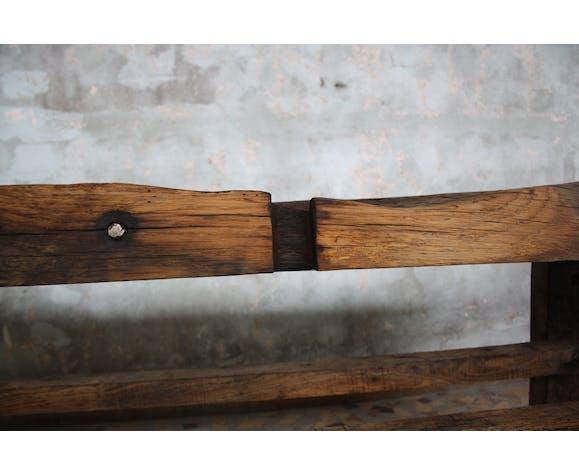 Etabli ancien en bois