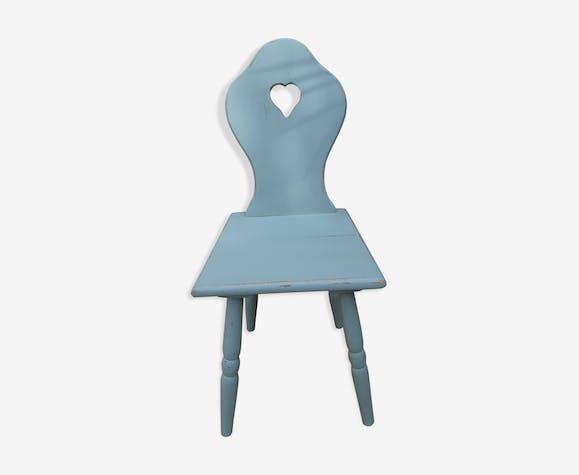 celadon patiné Chaise bleu enfant en boisMatériau rtshQdC