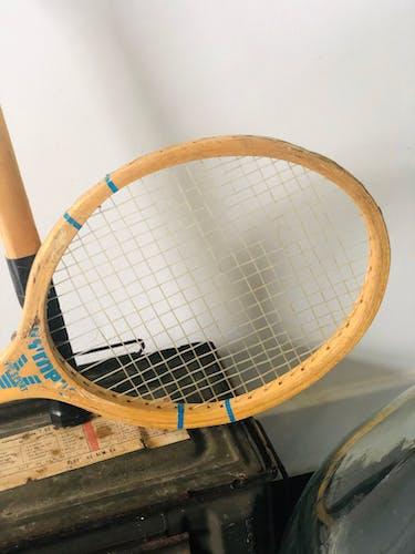 Paire de raquettes vintage