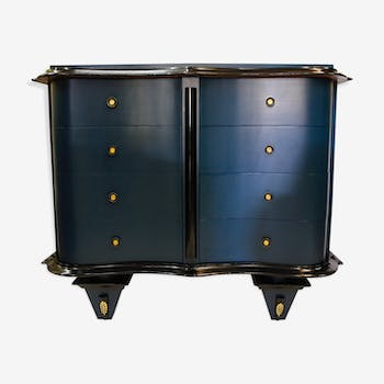 Dresser blue and black, 20th century