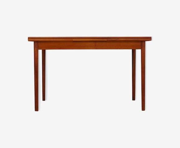 Table teck danois design 60 70 classic