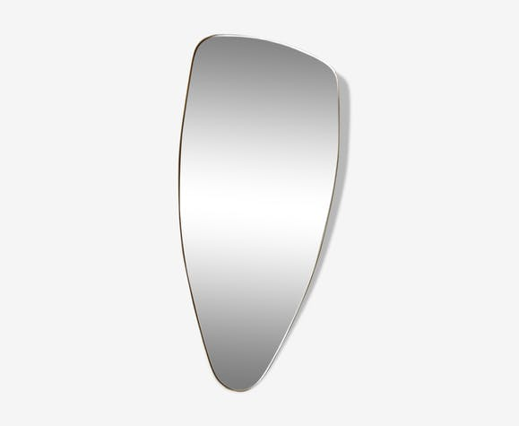 Asymmetrical vintage mirror 42x80cm