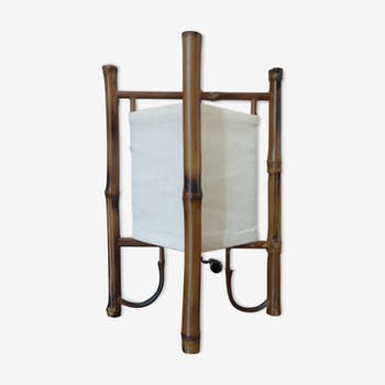 Lamp rattan bamboo 60/70s