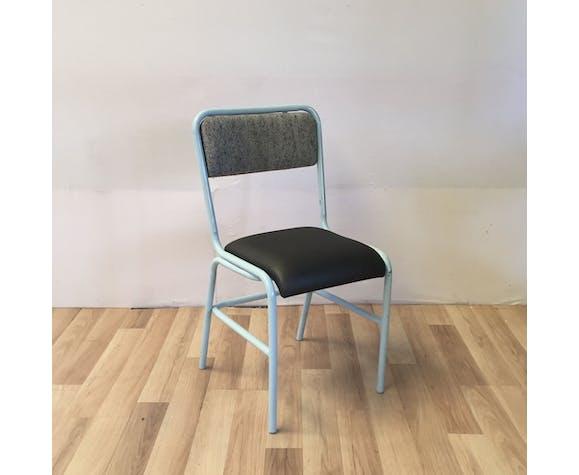 Pair of retaped workshop chairs