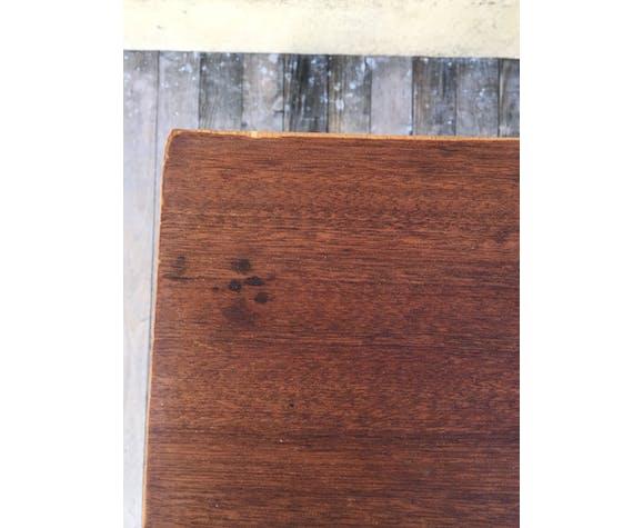 Console bois et métal pliante