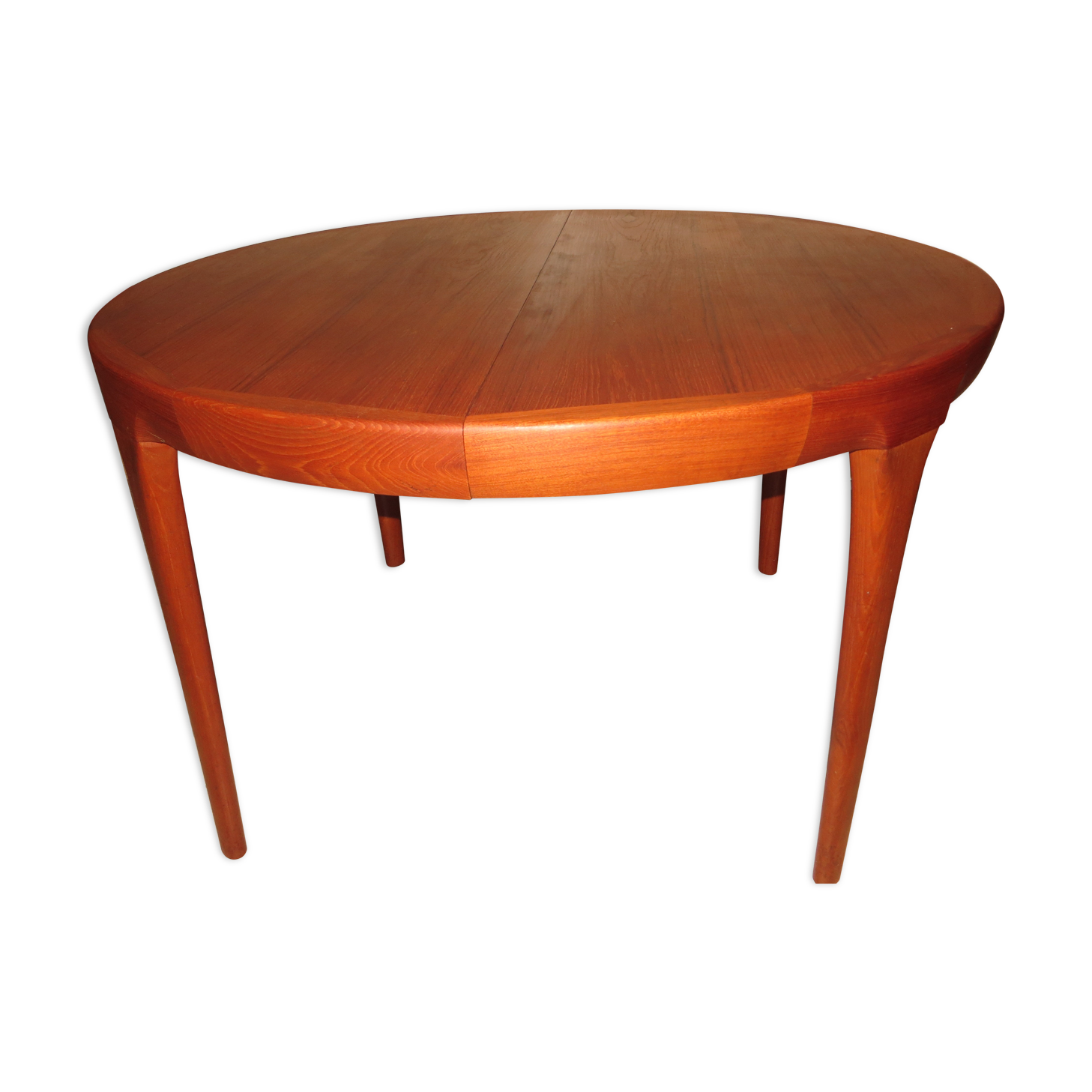 Great table de salle manger scandinave en teck des annes - Table a manger originale ...