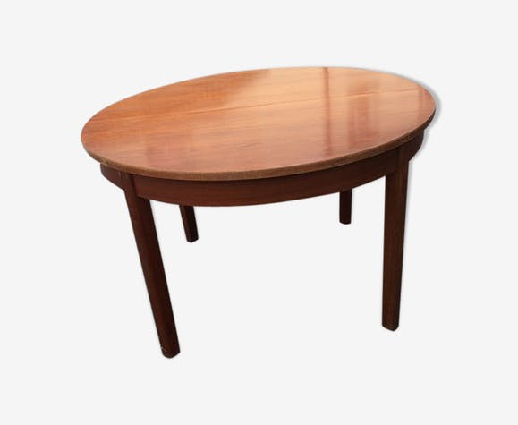 Table De Salle A Manger Scandinave Extensible Et Ronde Bois