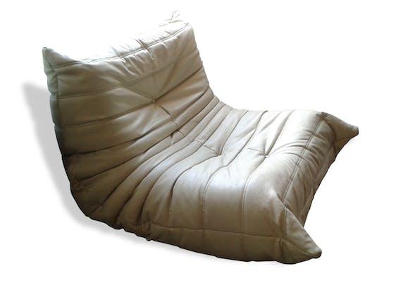 fauteuil togo ligne roset cuir design 20912. Black Bedroom Furniture Sets. Home Design Ideas