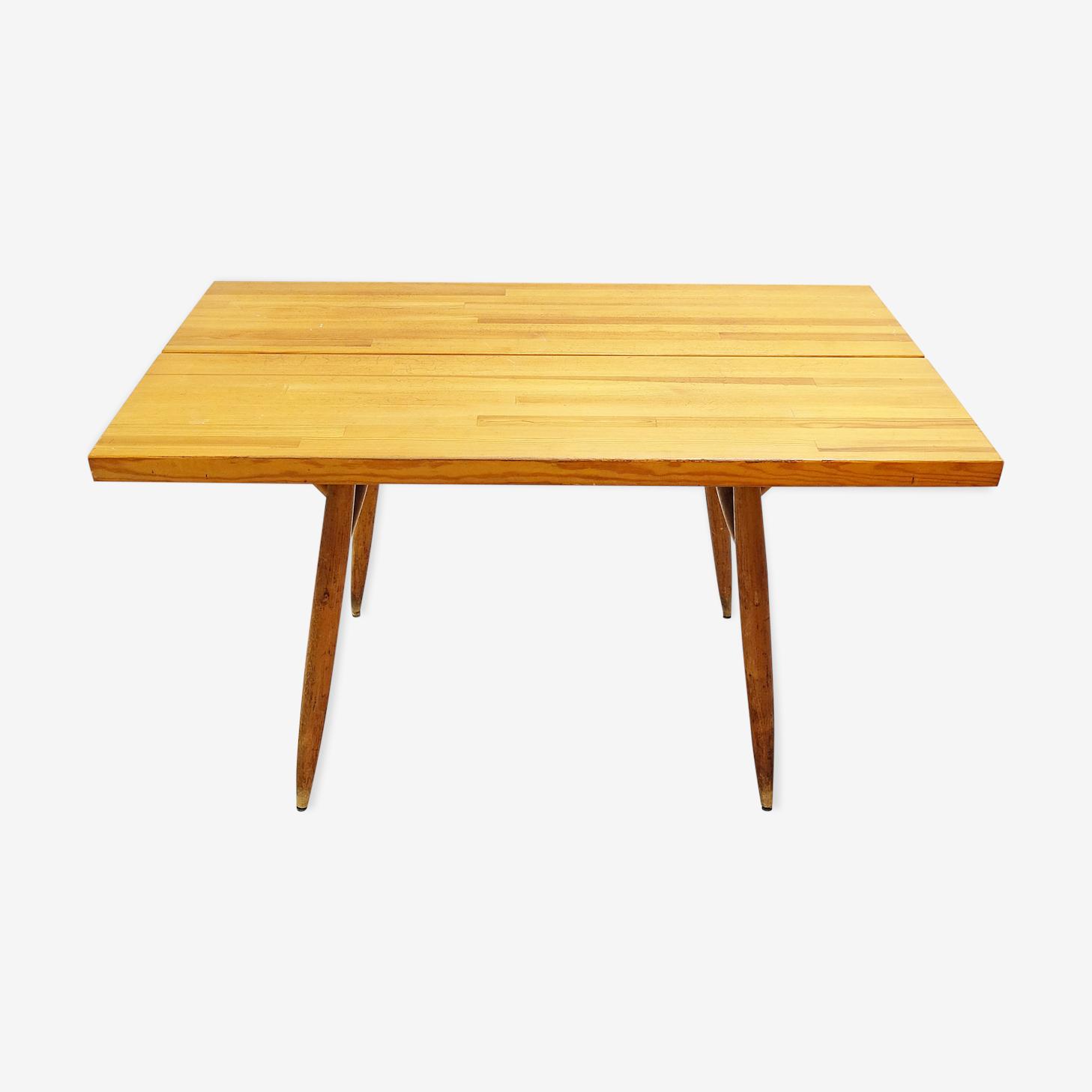 Table à manger par Ilmari Tapiovaara pour Laukaan Puu