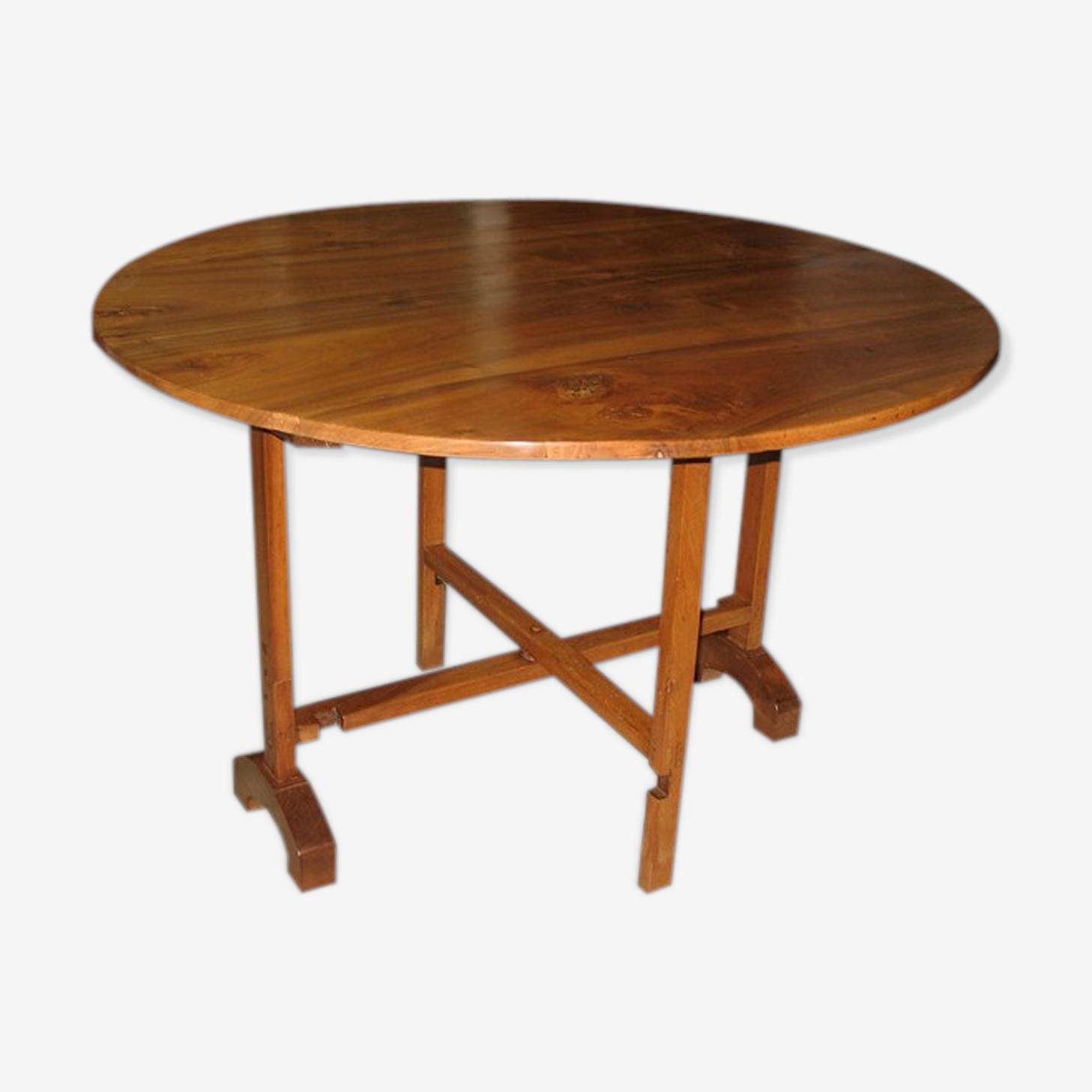 Table de vigneron en  oyer XIXeme