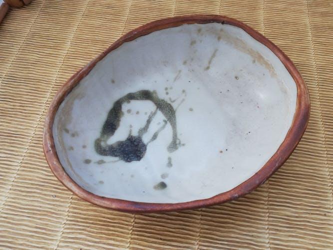 Ceramic trinket bowl, 70s