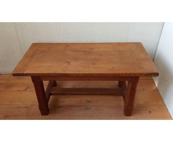 Table basse rustique en chêne