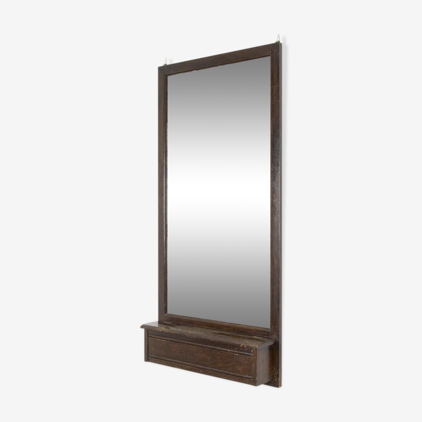 Miroir avec compartiment de rangement 59x124cm