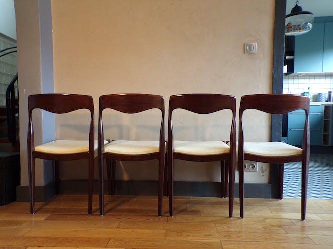 Set 4 chaises