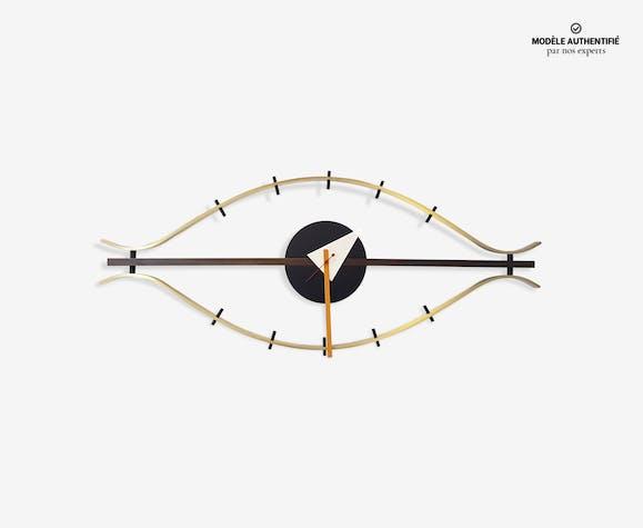 Horloge quot l oeil george nelson édité par vitra laiton