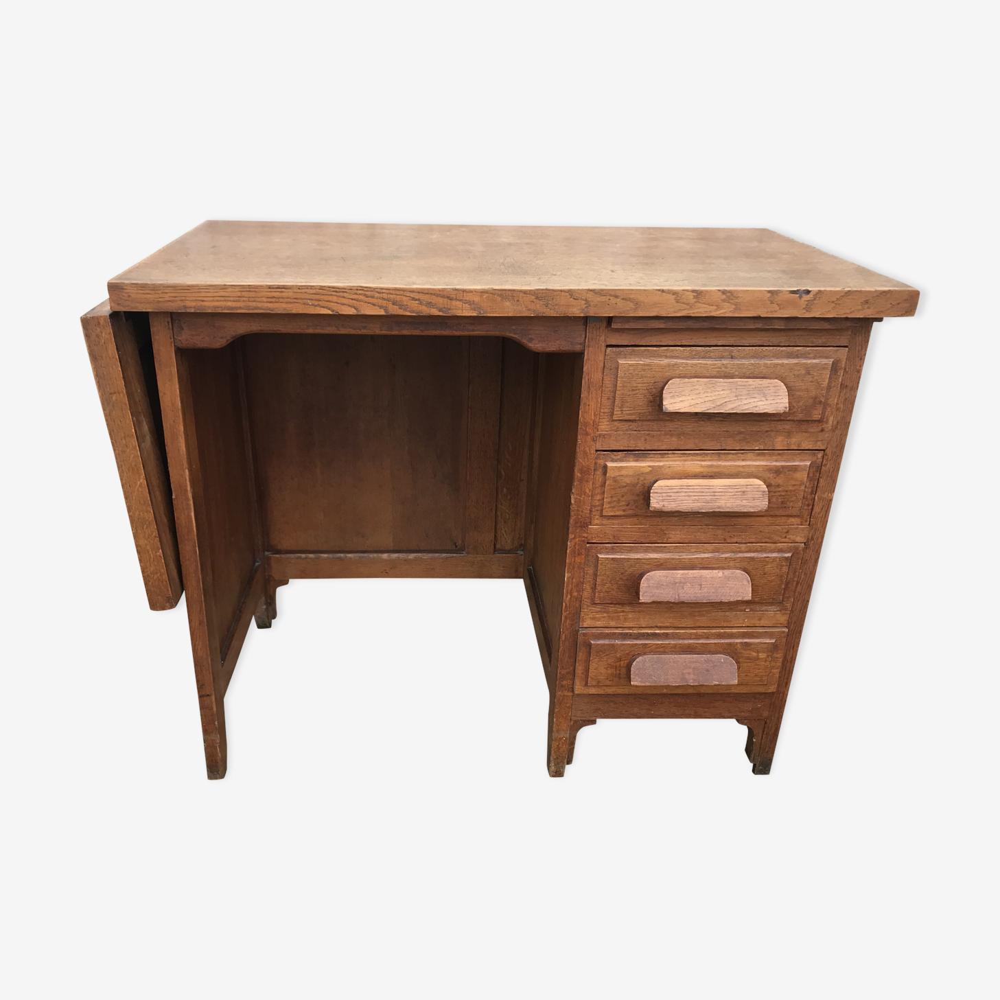Former administrative oak desk