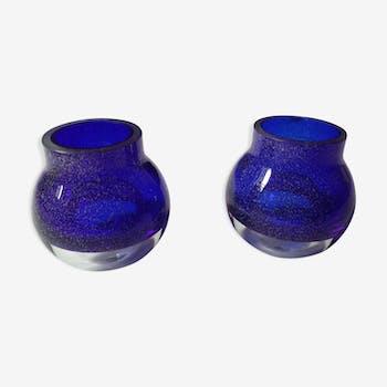 Soliflor boule design en verre soufflé