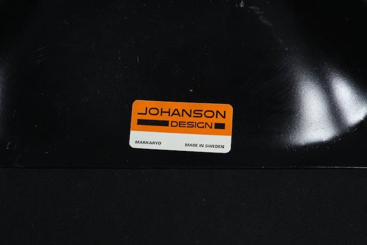 Set of 5 Vintage Largo Swivel Chairs Borje Johanson from Johanson Design