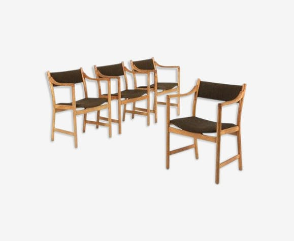Set de 4 chaises CH 50 Hans J. Wegner