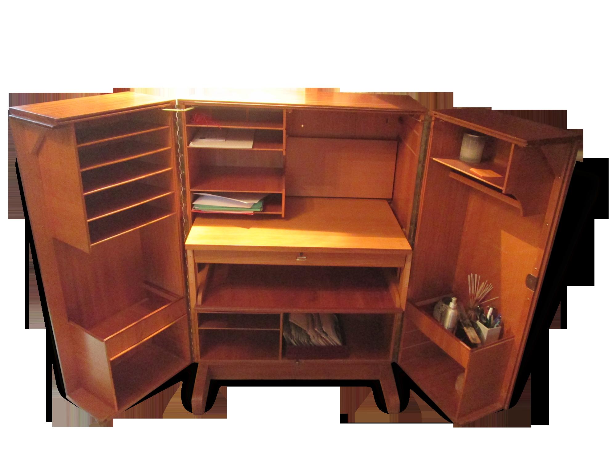 Bureau cabine anglais wood wooden classic