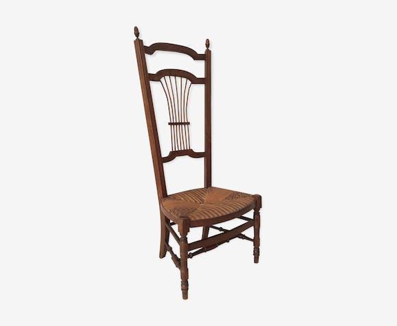 Chaise ancienne prie dieu bois mat riau bois couleur classique y93qyc4 - Style chaises anciennes ...