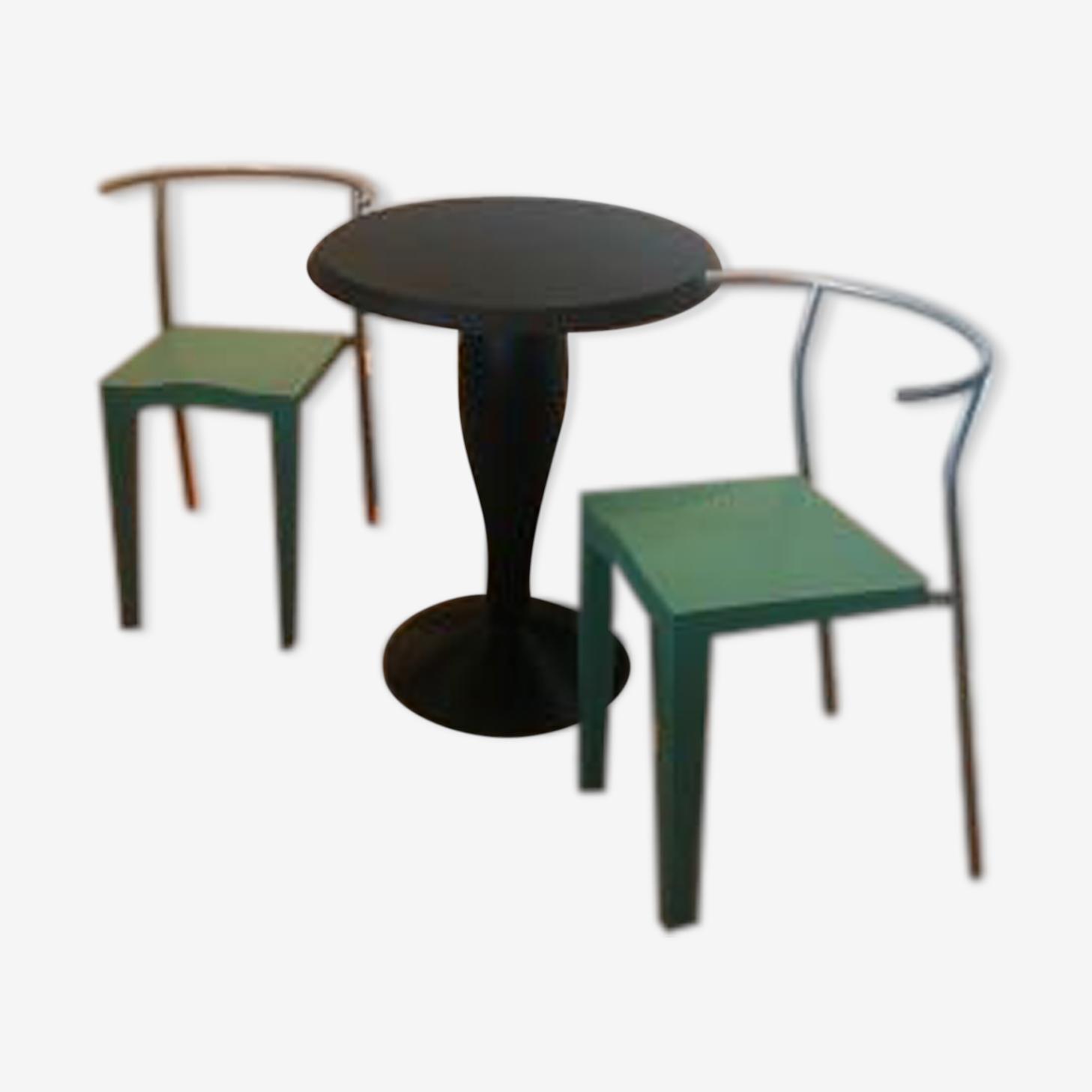 Set de salle à manger par Philippe Starck pour Kartell, 1980
