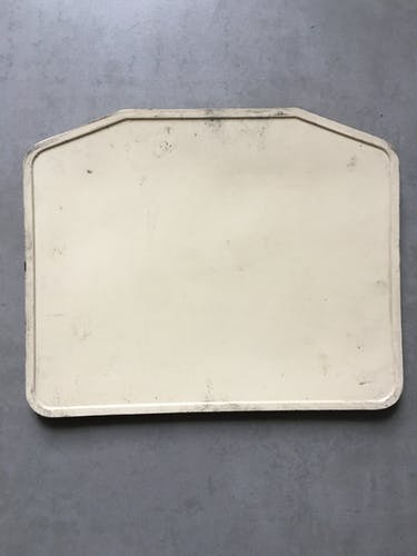 Old bus line plate No. 10