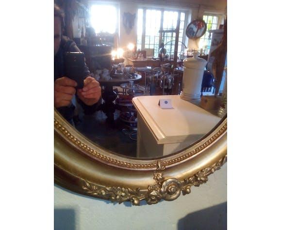 Oval mirror 75x08cm