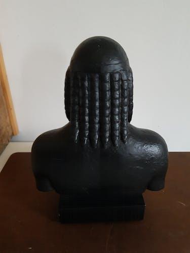 Buste statue grecque