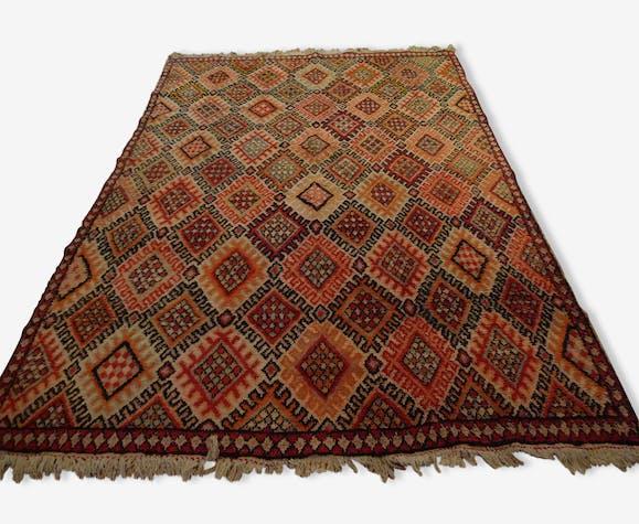 Tapis Marocain Original Marmoucha 278x202 Lainecoton