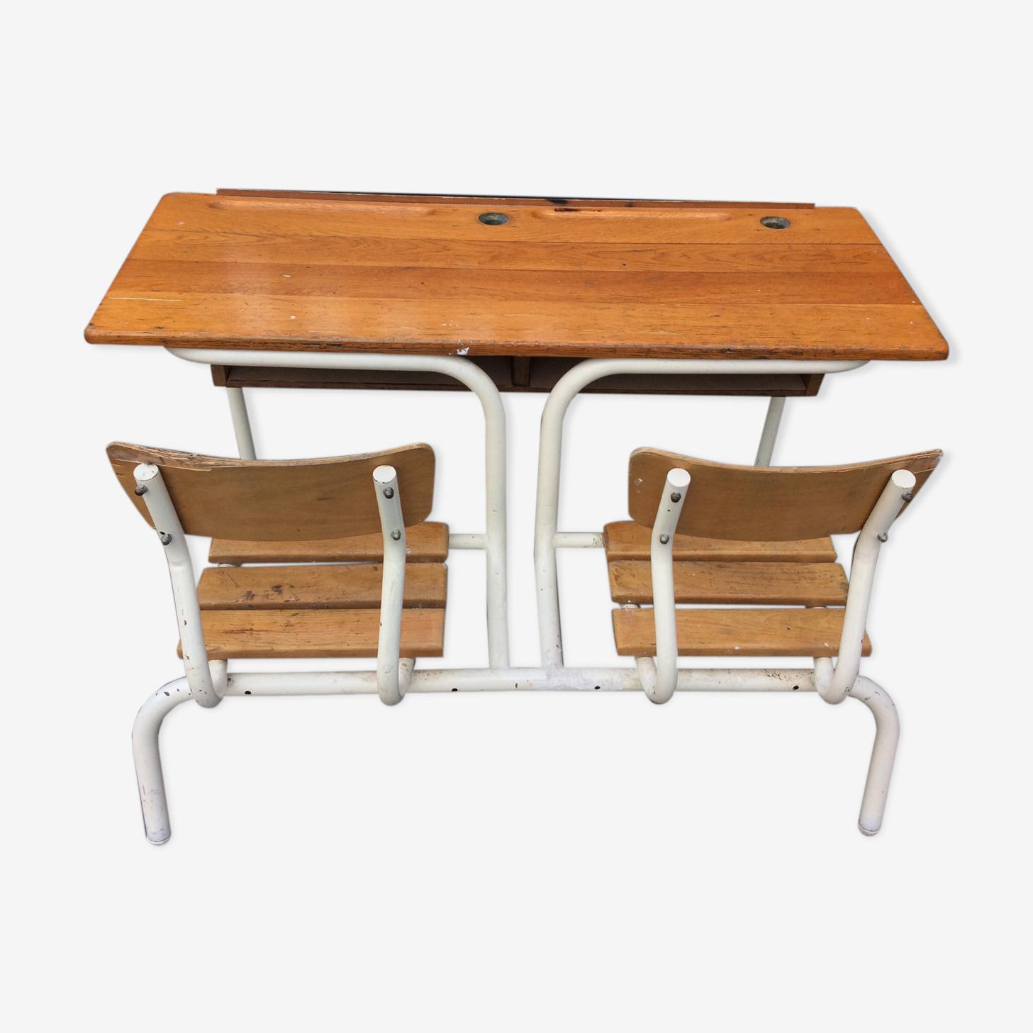 Double d schoolboy 1960 vintage desk