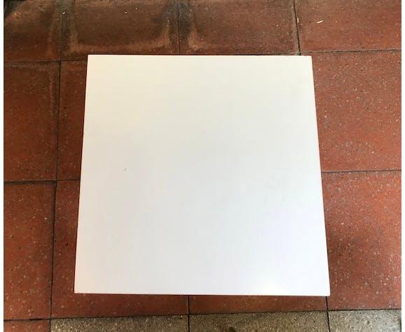 Table basse blanche - Modèle Volante - Pierre Guariche