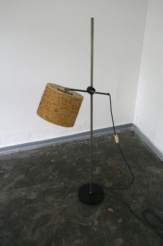 Vintage dutch design floor lamp by Anvia