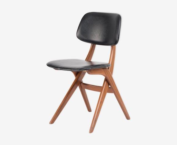 Dutch mid-century chair by Louis van Teeffelen for Webe, 1960s