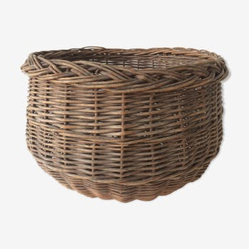Creel old vintage rattan wicker