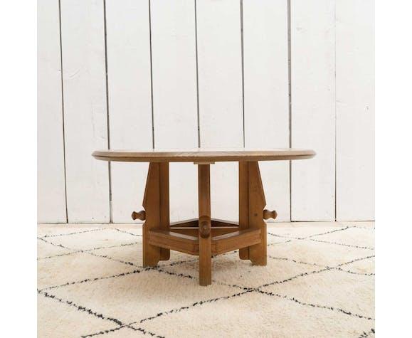 Table d'appoint ajustable Guillerme et Chambron pour votre maison, 1960s