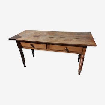 Table en chêne du début du XIX Siècle