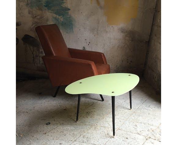 Table Basse Tripode Vintage Forme Palette Selency