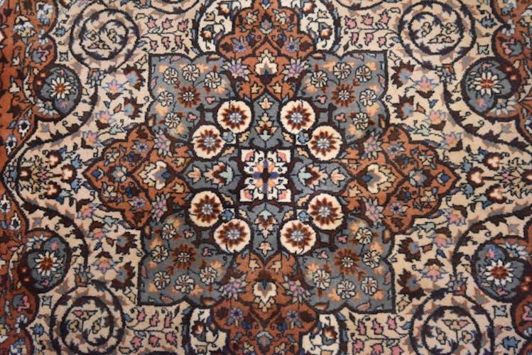 Tapis persan Kashmar, 141 cm x 221 cm, Iran, laine vers 1960