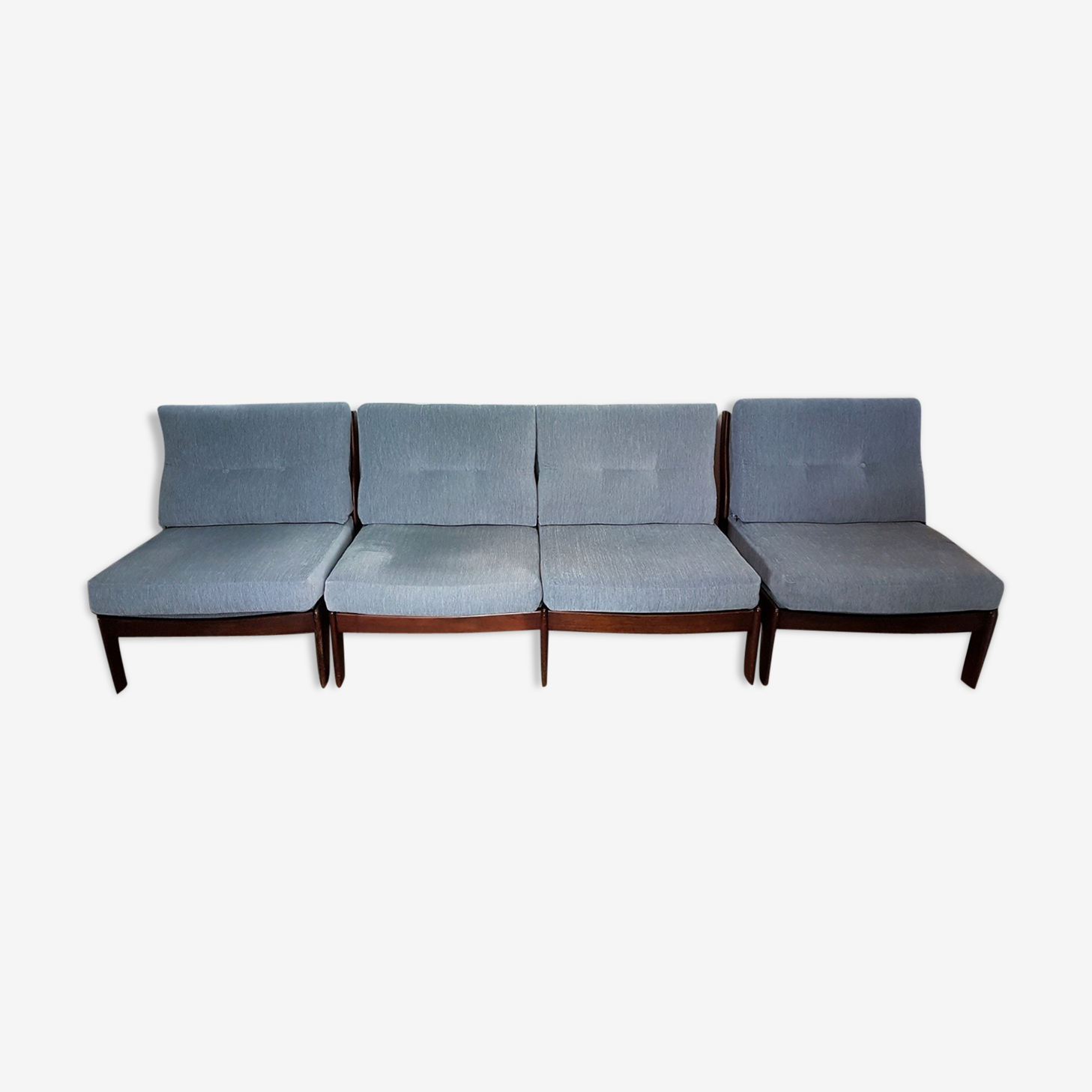 Set of 2 armchairs and a sofa